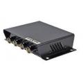 NVPT 414V, 4 vaizdo signalų perdavimo modulis, pasyvus