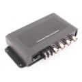 TTP414VD 4, Vaizdo signalo perdavimas vyta pora, 4 kanalų