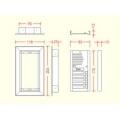 R3/P, Pasikalbėjimo panelės rėmelis, 3 moduliams