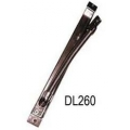 DL260, Metalinė rankovė kabeliams slepiama