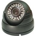 CDR 406K, Spalvota kamera, kupolinė, lauko 12VDC (VTV 6100H)